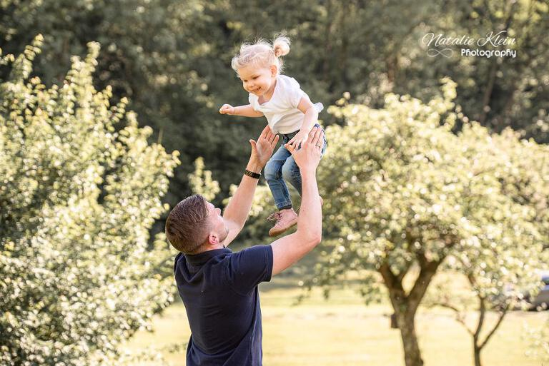 Familienfotos Reportage